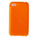s-mak Color covers Silicone Cases For iPhone 7S Plus - Orange