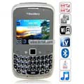 8520 Quad Band Dual Cards Dual Cameras WiFi Color TV Bluetooth Java China Phone-Black