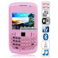 8520 Quad Band Dual Cards Dual Cameras WiFi Color TV Bluetooth Java China Phone-Pink