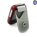 A2000 Dual SIM Card Phone with TV & Bluetooth Function - Red