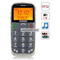 AMOR L88 Quad Band Large Keys FM Radio MP3 Player Special for Senior Citizens China Phone-Gray