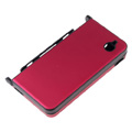 Aluminum Metal Hard Case Cover For Nintendo NDSi XL/LL-Winne Red