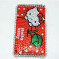 Bling Hello Kitty Diamond Crystal Cover Case for iPod Touch 2G