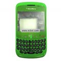 Compatible Fullset Housing for Blackberry 8520 Mobile Phone-Shiny Green
