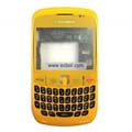 Compatible Fullset Housing for Blackberry 8520 Mobile Phone-Shiny Yellow