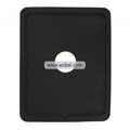 Compatible Silicone Case with Hole for Apple iPad-Black