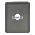 Compatible Silicone Case with Hole for Apple iPad-Grey