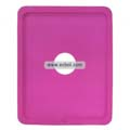 Compatible Silicone Case with Hole for Apple iPad-Pink