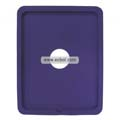 Compatible Silicone Case with Hole for Apple iPad-Purple