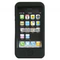 Compatible Silicone Case for Apple Iphone 4G-Black