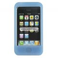 Compatible Silicone Case for Apple Iphone 4G-Blue