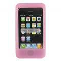 Compatible Silicone Case for Apple Iphone 4G-Pink