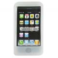 Compatible Silicone Case for Apple Iphone 4G-White