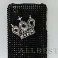 Crown Crystal Diamond Rhinestone Cover Case for iPhone 3G 3GS