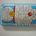 Doraemon Crystal Diamond Rhinestone Cover Case for Apple iPhone 3G 3GS