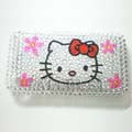 Fashion Crystal Cover Case for iPhone 3G-Hello Kitty