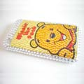 Fashion Crystal Cover Case for iPhone 3G-Winne in the pooh