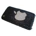 Fashion Crystal Rhinestone Cover Case for Apple iPhone 3G 3GS in Black