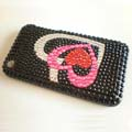 Fashion Crystal Rhinestone Cover Case for iPhone 3G 3GS-Heart