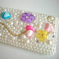 Fashion Pearl Diamond Cover Case for Apple iPhone 3G 3GS