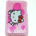Hello Kitty Bling Crystal Cover Case for iPod Touch 2G-Pink