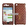 High Quality Famous Brand Protective Case for Apple Iphone 3G/3GS-Brown
