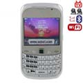 LA-8520 Quad Band Dual Cards Dual Cameras WiFi Color TV Bluetooth Java Phone - Silver