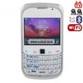 LA-8520 Quad Band Dual Cards Dual Cameras WiFi Color TV Bluetooth Java Phone - White