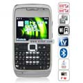 MFU E71W Quad Band Dual Cards Dual Cameras WiFi Color TV Bluetooth Java China Phone