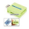 MS/SD/MMC/T-Flash/Micro SD/M2 card reader USB 2.0 card reader HY-CR-32