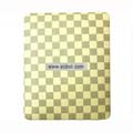 Protection Back Case Skin Cover for Apple iPad-Light Yellow Grid