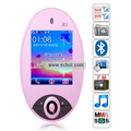 R1 Quad Band Dual Cards Bluetooth Camera Touch Screen China Phone - Pink