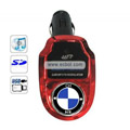 Remote Control BMW Car MP3 Player with SD Card Slot-Red