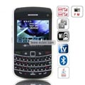 WANK 9700++ Quad Band Dual Cards Dual Cameras WiFi Color TV Bluetooth Java China Phone-Black