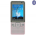 BX K820 Dual SIM Card Phone with TV & Bluetooth - Pink