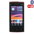 M009 Dual SIM Card Phone with WIFI & TV & Bluetooth - Black & Red