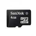 Memory card - 4GB Sandisk Micro SD/ T-Flash Memory Card