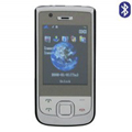 Qi Tai E76 Dual SIM Card Phone with TV & Bluetooth - Black
