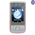 Qi Tai E76 Dual SIM Card Phone with TV & Bluetooth -Pink