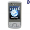 Qi Tai E76 Dual SIM Card Phone with TV & Bluetooth - White