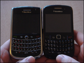 Both unreleased as of yet: BlackBerry 9630 and Curve 8520